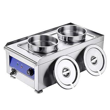 Amazon.com: WeChef - Calentador de alimentos de acero ...