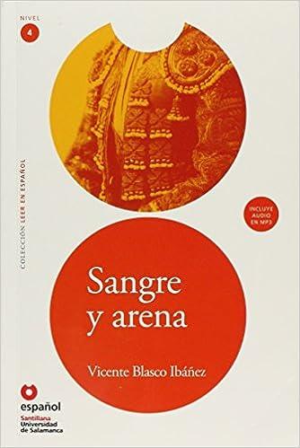 LEER EN ESPAÑOL NIVEL 4 SANGRE Y ARENA + CD: Amazon.es: Universidad de Salamanca: Libros