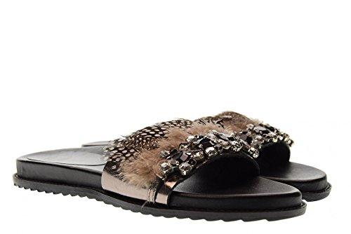 Pantoufles 45391 Piombo Femme Bas Gioseppo Chaussures Plomb cqHwvBH7R