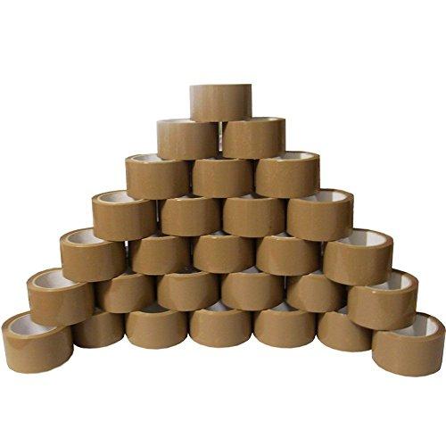 Paketklebeband Braun 24 Rollen 50mm x 66m