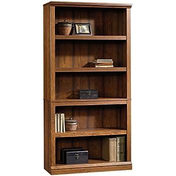 Amazoncom Sauder 414356 Sauder 5 Shelf Bookcase L 3528 X W