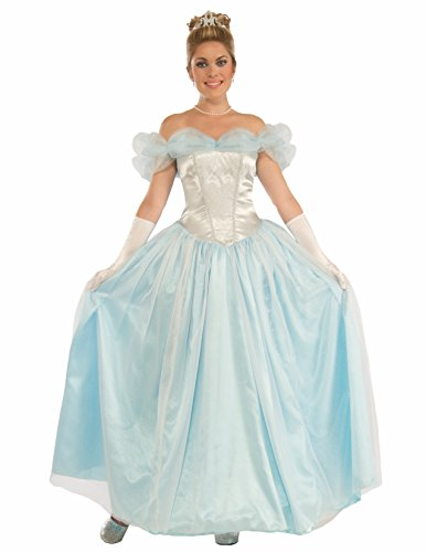 Cinderella Costumes 2016 (Forum Women's Happily Ever After Princess Costume, Multi/Color, One Size)