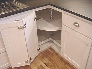 Lasy Susan 135 Degree - 1 Pair DecoBasics Pie-Corner Cabinet Corner Cabinet Door Hinge Hinges Kit 2 Hinges
