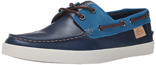 Lacoste Men's Keellson 8 Boat Shoe, Navy Navy/Blue, 13 M US by Lacoste (Image #9)