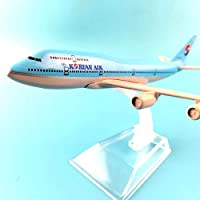 LTWAAXP Airplane Model Building Aircraft Model Diecast Metal 1:400 16cm Plane Model Airplane Model Korea No 1 Boeing 747 Airplanes Plane Toy Gift