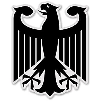 Amazon German Eagle Chrome Car Emblem Deutschland Germany
