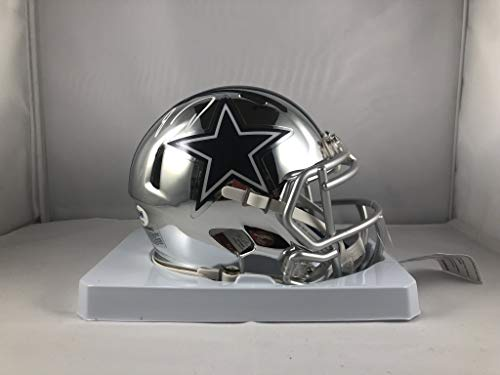 Jaylon Smith autographed signed chrome mini helmet NFL Dallas Cowboys JSA COA ()