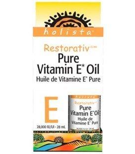 Holista Restorativ Pure Vitamin E Oil 28,000 IU, 1 Ounce (28ml) (1 Ounce / 28 ml)