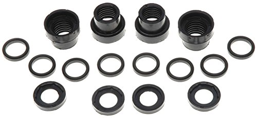ACDelco 18K271X Professional Front Disc Brake Caliper Hardware Kit with Bushings and Caps