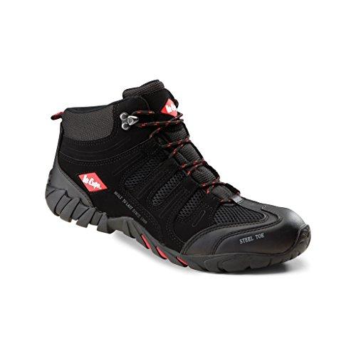 Homme Noir sécurité Chaussures Cooper Lee Montantes de BXUqz