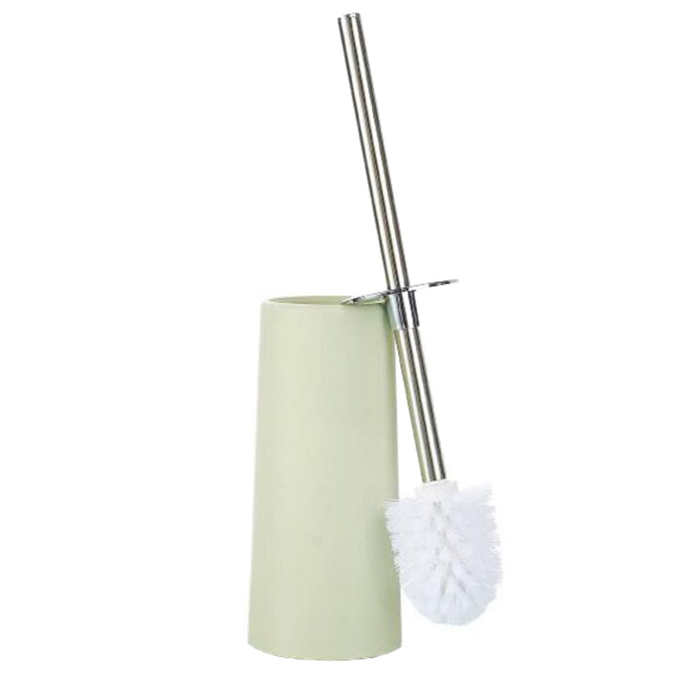 George Jimmy Home/Hotel Toilet Brushes with Tall Bowl Holder - Light Green
