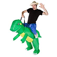 Bodysocks - Inflatable Ride Me Adult Carry On Animal Fancy Dress Costume … (Dino)