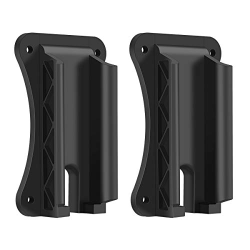 OYSIN 2PCS Gun Magnet Mount, Gun Magnetic Holder for Bumpy and Tough Terrain, Car Concealed Holster for Truck, Wall, Vehicle,Cabinet
