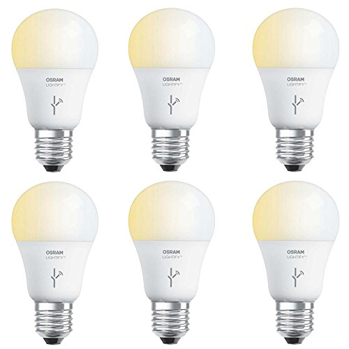 Sylvania Osram Lightify 60 Watt A19 Tunable Smart Home LE...