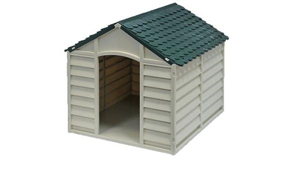 Caseta para perro de perro modular resina L89xP92xH89 cm.: Amazon.es: Bricolaje y herramientas