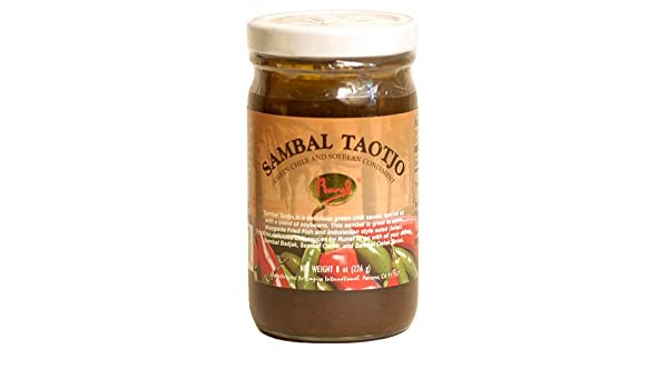 Amazon.com : Runel Sambal Taotjo - Green Chile and Soybean Condiment : Sauces And Marinades : Grocery & Gourmet Food