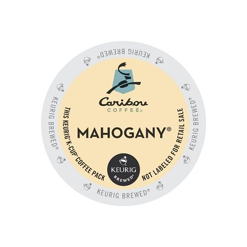Caribou Coffee Mahogany Brewers 96 Count