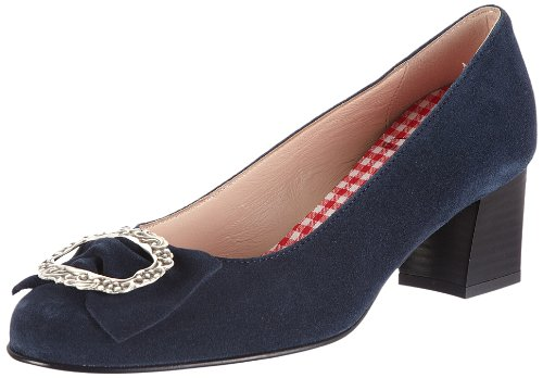 Diavolezza CELINE, Damen Pumps, Blau (Blue), 40 EU