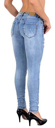 Taille 50 Waist H341 High Jeans Skinny Pantalon tex Femmes Haute Taille by Grande Femme 48 Jean 52 S200 pX8xqU