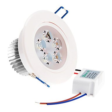 La bombilla, regulable Power LED 5 W 5 x High 350LM 6000 K refrigeración Color