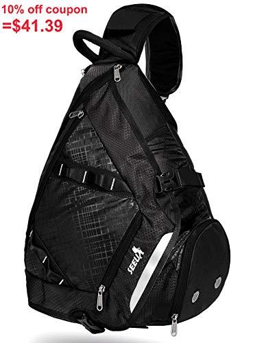 ling Bag Backpack, Crossbody Bag Gym Backpack Outdoor Hiking Travel Bag for Men Women Kids ()