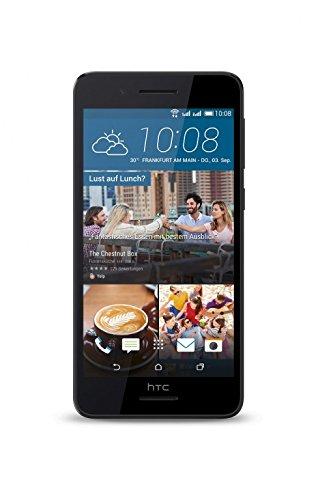 bolsa del cinturón / funda para HTC Desire 728G Dual SIM, negro | caja del teléfono cubierta protectora bolso - K-S-Trade (TM)