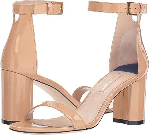 Stuart Weitzman Women's 75mm Less Nudist Sandals, Adobe, Tan, 9.5 M US