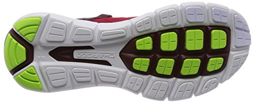 Under Armour Mens Ua Speedform Apollo Twst Sneaker Rood / Wit / Fluo Geel