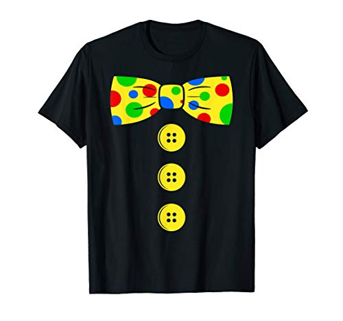 (Clown Big Bow Tie t-shirt | Funny tacky clown outfit tee )