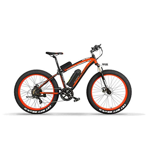 KPLMⓇ Electric Folding Bicycle Adult Power Electric Mountain Bike 26 inch Lithium Battery Folding Road Bicycle