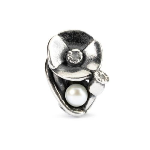 Trollbeads Poppies of August - TAGBE-00034