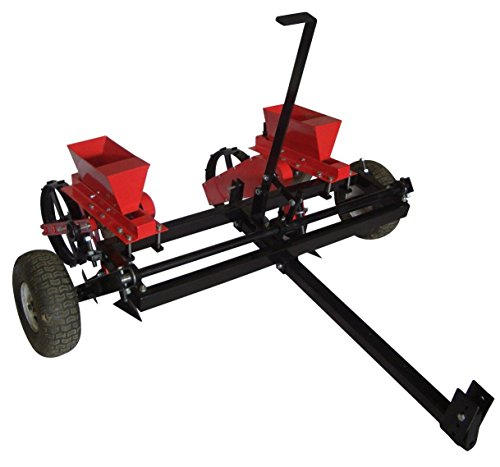 Tuff Field Equipment 2 Row Corn and Bean Planter ATV-CBP Atv Pull Behind Spreader