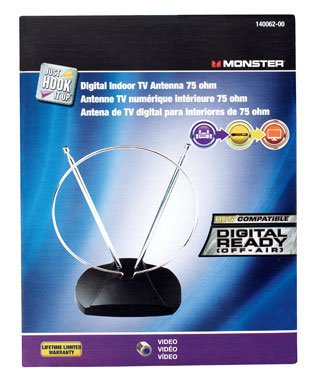 ANTENNA VHF/UHF/HDTV by JHIU BY MONSTER MfrPartNo 140062-00