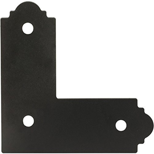 (SIMPSON STRONG TIE AB-884SBGK001 4X4 Blk Zmax L Strap, 4