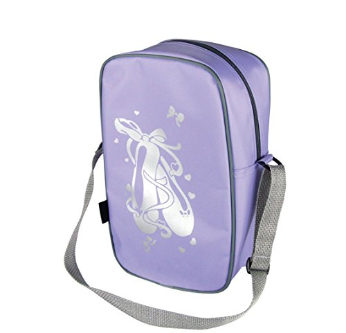 Tappers & Pointers Girl's Tall Tote Dance Bag Lilac