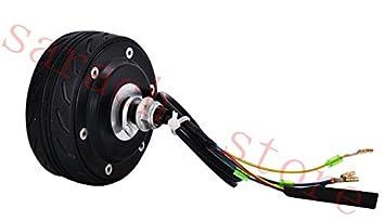 """4 """"150 W 36 V e Scooter Motor de cubo de rueda bicicleta eléctrica"""
