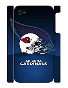 Vogue Sports Series Handmade Men Pattern Football Team Logo Snap on Background For Iphone 4/4S Case Cover