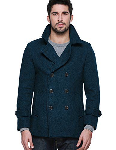 Us Navy Wool Peacoat Jacket - 7