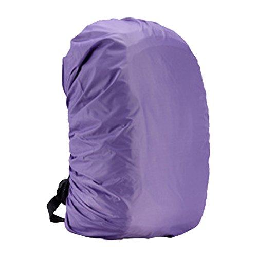 1PS 45L Regen Tasche tragbar Wasserdicht für Outdoor Wandern Radfahren violett