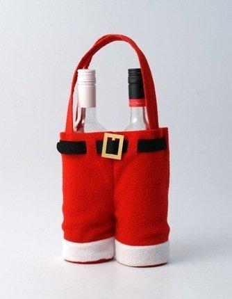 Babbo Natale pantaloni portabottiglie