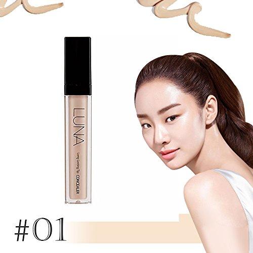 (Luna Long Lasting Tip Concealer 7.5g SPF28 PA++/Made in Korea (#01 Light Beige))
