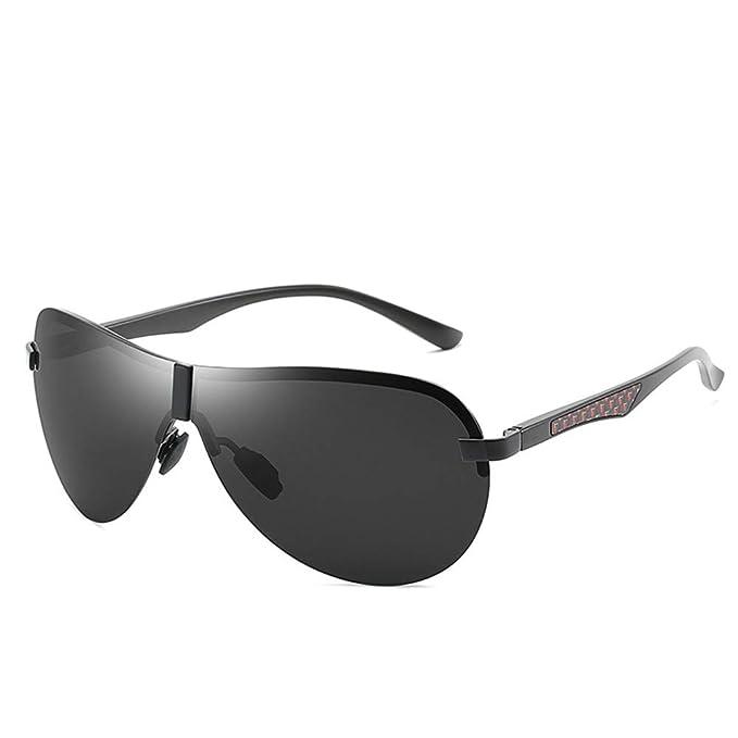 RZXTD Gafas De Sol Gafas De Sol De Aviación Siamesas Sin ...