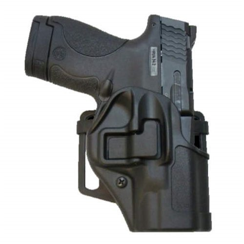 BLACKHAWK! 410579BK-L SERPA CQC Concealment Holster with Matte Finish, Black, Size 79