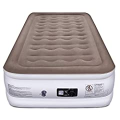 The new standard for airbedsCreate cozy accommodations for your overnight guests with the Etekcity twin Airbed. Crafted with durable, lightweight materials, the airbed comfortably supports your body while maintaining its firmness and shape. I...