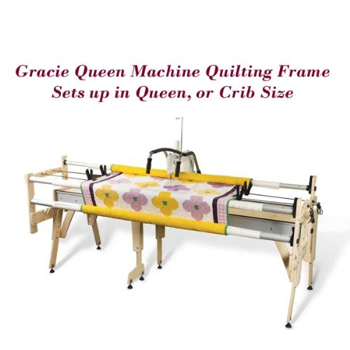 Grace Gracie Queen Machine Quilting Frame, Bungee Clamps Included by Grace