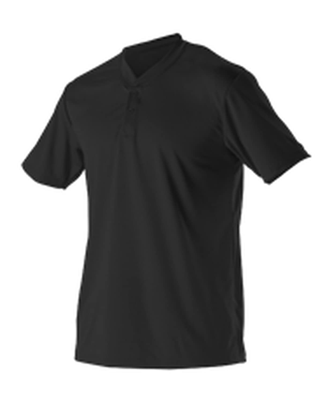Alleson Athletic SHIRT ボーイズ B073Z4J95Sブラック Large
