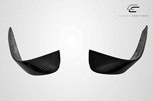 Carbon Creations Replacement for 2014-2015 Mercedes CLA Class Black Series Look Front Bumper Accessories - 4 Piece by Carbon Creations (Image #9)