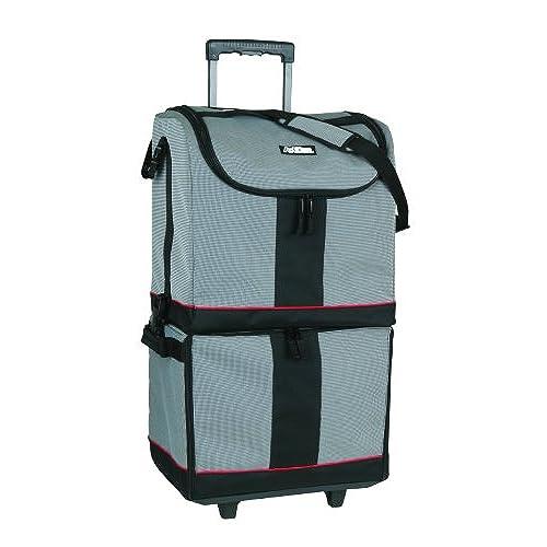 ArtBin Tote Express, Black/Gray Rolling Art Craft Storage Bag,6922SA