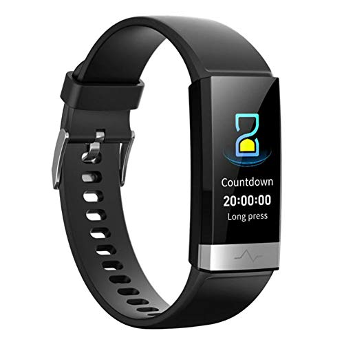 V19 HR ECG + PPG Dual Heart Rate Monitor Fitness Activity Tracker Health Smart Watch with HRV SpO2 Blood Oxygen…