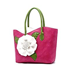 Product Features: 1. Designed with pretty 3D flower, perfect for using in office, school, travel or any other daily occasions. 2. High quality PU leather and fabric lining, easy to clean and long lasting.